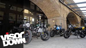 retro bike group test yamaha xsr700 vs