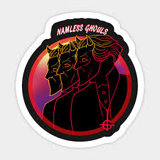 Ghouls From Ghost Nameless Ghouls Ghost Bc Band Sticker Teepublic
