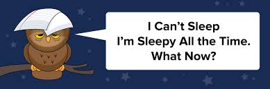 I Can't Sleep I'm Sleepy All the Time. What Now? | Student Health ...