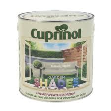 Cuprinol Garden Shades Wood Paint Matt Natural Stone 2 5ltr Screwfix Eu