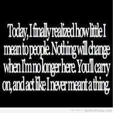 sad quotes about depression quotesgram