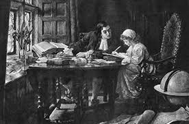Amazon.com: Esther Johnson (1681-1728) Njonathan Swift Teaching Esther  Stella Johnson To Read And Write Photogravure 1896 After The Painting By  Margaret Dicksee Poster Print by (24 x 36): Posters & Prints