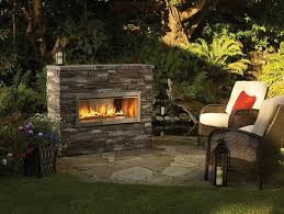 outdoor gas fireplace designs pictures