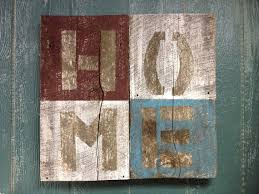 Home Is Where The Heart Is Barn Wood Signs Barn Wood Crafts Barn Wood