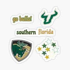 Usf Stickers Redbubble