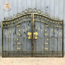 garden ornamental cast iron gate
