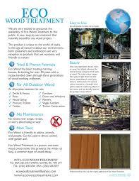 Wood Treatment Eco Wood Treatment Home Depot