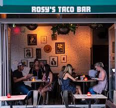 rosy s taco bar now open in rittenhouse