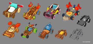 ArtStation - Angry Birds Go! (Mobile), Paul Banister