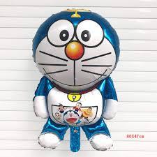 Decorados Para Fiestas 6 Unid Set Doraemon Numero 32 Pulgadas
