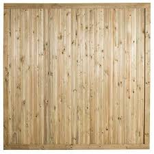 6ft High Decibel Noise Reduction Fence Panel Pressure Treated Elbec Garden Buildings
