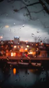 خلفيات موبايل حزينه مطر الشتاء Hd 2020 مربع