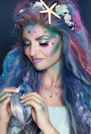 mermaid makeup look for