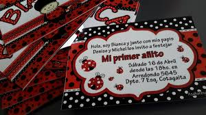 Tarjetas Invitaciones Cumpleanos Vaquita San Antonio Foto 22