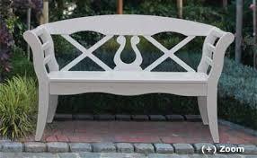 wooden garden benches and garden
