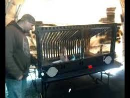 fireplace grate heater wood furnace