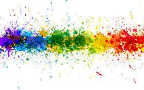 Image result for single rainbow brush stroke underline clipart