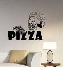 Amazon Com A Good Decals Usa Pizza Sign Wall Decal Removable Vinyl Sticker Italian Food Art Decorations For Restaurant Cafe Kitchen Pizzeria Decor Piz1 Home Kitchen