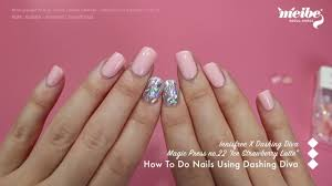 nails using dashing diva magic press
