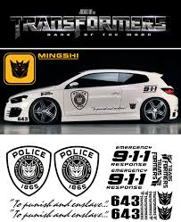 1 Pair American Transformers Decepticons Autobots Car Sticker Vehicle Wraps Accessories Decals For Bmw I X Z Series Mercedes Car Stickers Aliexpress