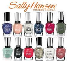sally hansen salon manicure nail polish