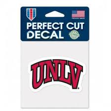 Unlv Runnin Rebels 4 X4 Perfect Cut Car Decal New Ncaa Auto Sticker Emblem For Sale Online