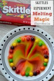 skittles experiment melting magic