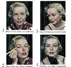 1950 s doe eye makeup tutorial