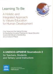 learning to be a holistic and integrated approach to values