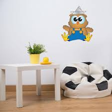 Baby Owl Wall Decal Style And Apply