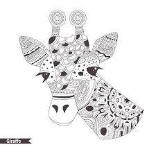 Giraf Cartoon Vectoren Illustraties En Clipart 123rf