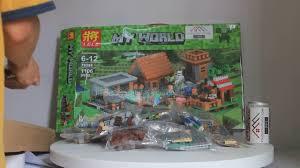 Mở hộp Lele 79288 Lego Minecraft 21128 The Village giá sốc rẻ nhất ...