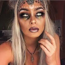 fortune teller gypsy halloween makeup