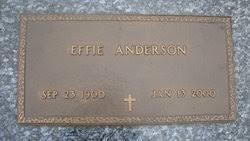 Effie Anderson (1900-2000) - Find A Grave Memorial