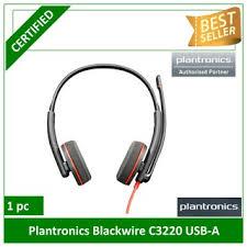 Plantronics Blackwire C3220-M USB-A Corded Headset-Binaural ...