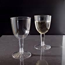 plastic wine glasses disposable best