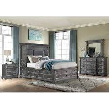 gray bedroom set cal king light grey