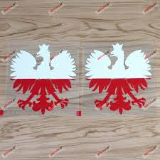 Amazon Com 2 Pack 6 Polska Eagle Decal Sticker Coat Of Arms Of Poland Herb Polski Polish Flag Vinyl Arts Crafts Sewing