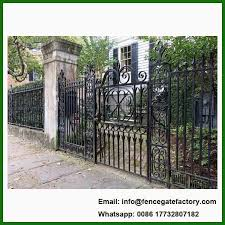 20 Pics Review Simple Steel Gate Designs For Homes And Descrition In 2020 Wrought Iron Fences Fence Design Iron Fence