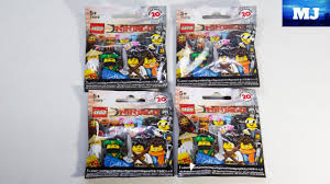 LEGO 71019 Ninjago Movie Series Minifigures - Opening blind packs ...