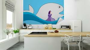 Jonah And The Big Fish Wall Mural Pixers We Live To Change