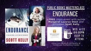 4/22 - Margaret Lazarus Dean and Scott Kelly - ENDURANCE | Union ...