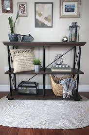 diy industrial shelves to build