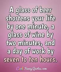 drinking after work is fine but if you really want to enjoy