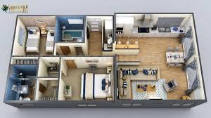 new small house design 3d floor plan by