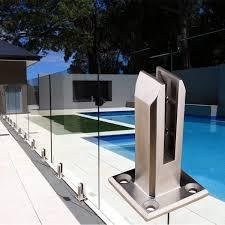 Stainless Steel Glass Clamp Glass Spigot For Balusters Railing Post Balcony Terrace Handrail Banister Pool Frameless Fence Balustrade Panels Amazon Ca Home Kitchen