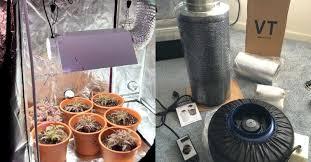 best 4x4 grow tent setup fan filter