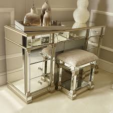 gold mirrored 9 drawer dressing table
