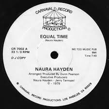 Naura Hayden - Equal Time   Releases   Discogs