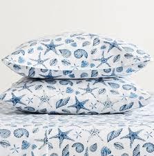coastal nautical cotton sheets